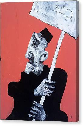 Expression Canvas Print - Protesto No. 13 by Mark M  Mellon