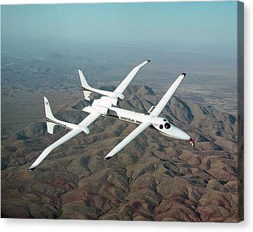 Proteus Endurance Aircraft Canvas Print by Nasa/tom Tschida