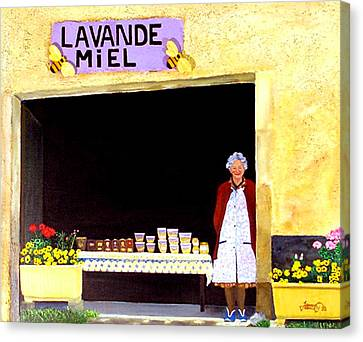 Provence Honey Shoppe Canvas Print