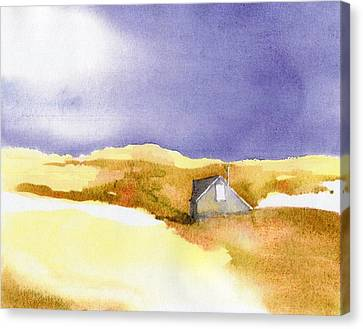 Provincetown Dune Shack Canvas Print by Joseph Gallant