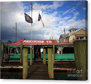 Provision Co - Southport Nc Canvas Print