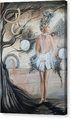 Orb Canvas Print - Prudence by Jacque Hudson
