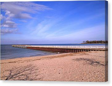 Prybil Beach Pier Canvas Print