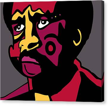 Pryor The Great Canvas Print by Kamoni Khem
