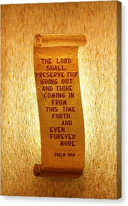 Psalm 121 Canvas Print by James Hammen