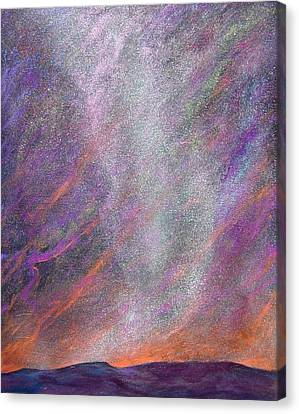 Psalm 8 1 Canvas Print by J Michael Orr