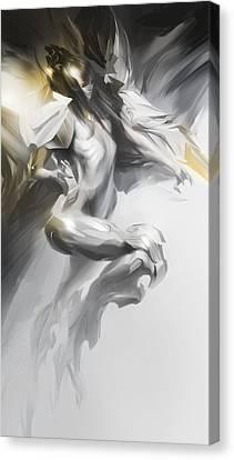 Psionic Canvas Print by Peter La