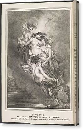Psyche Canvas Print by British Library