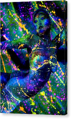 Psychedelic Dream Canvas Print by Adam Chilson