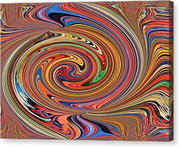 Psychedelic Canvas Print by Kristin Elmquist