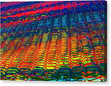 Psychedelic Yarn Canvas Print by James Hammen