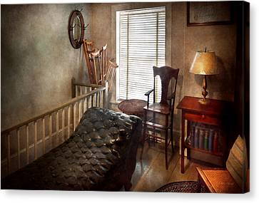 Crutch Canvas Print - Psychiatrist - The Shrink by Mike Savad