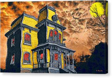 Psycho Canvas Print by George Rossidis