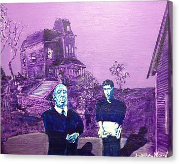 Psycho Set Canvas Print