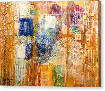Psychogenesis Canvas Print by Ron Richard Baviello