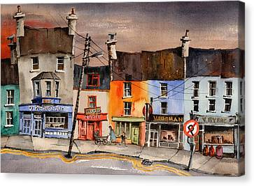 Pub Street Ennistymon  Clare Canvas Print
