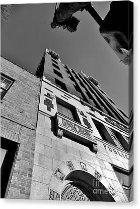 Public Service Building Canvas Print