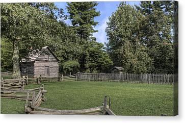 Puckett Cabin Canvas Print