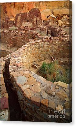 Pueblo Bonito Canvas Print by Inge Johnsson