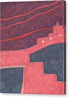 Pueblo Entry Canvas Print by Jon Hayes