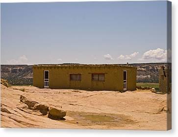 Pueblo Home Canvas Print