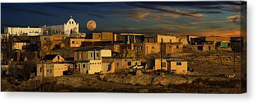 Canvas Print featuring the photograph Pueblo Sunrise by Wendell Thompson