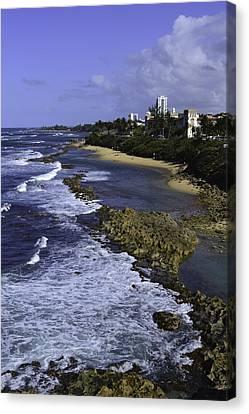 Puerto Rico Coastline Canvas Print