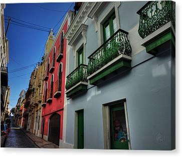 Puerto Rico - Old San Juan 003 Canvas Print
