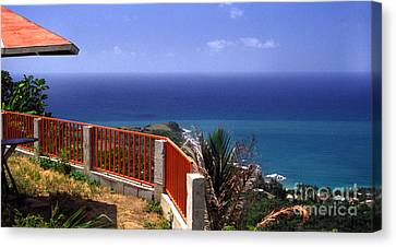 Puerto Rico Panoramic Canvas Print by Thomas R Fletcher