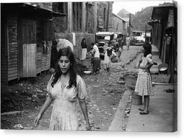 Puerto Rico Slum, 1942 Canvas Print by Granger
