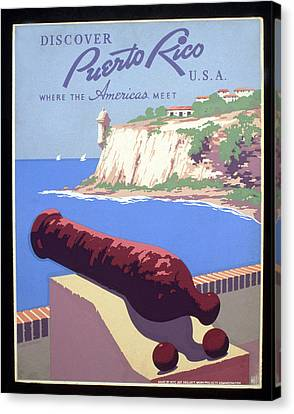 Puerto Rico Usa Canvas Print by Unknown