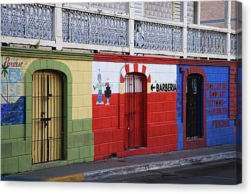 Puerto Rico, Vieques, Isabela Segunda Canvas Print by Jaynes Gallery
