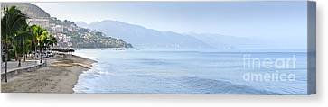 Puerto Vallarta Beach In Mexico Canvas Print