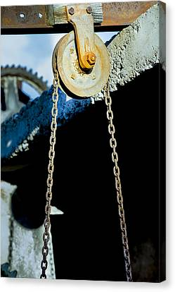 Pulley Canvas Print