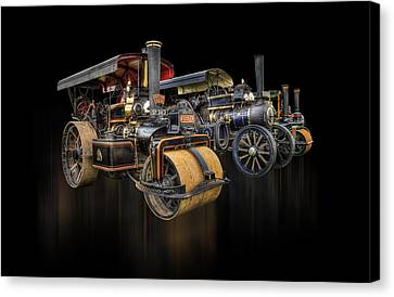 Canvas Print featuring the photograph Pulling Power  by Stewart Scott