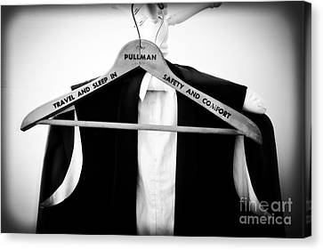 Vintage Trains Canvas Print - Pullman Tuxedo by Edward Fielding
