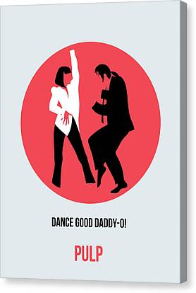 Pulp Fiction Poster 5 Canvas Print by Naxart Studio