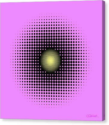 Pulsations Canvas Print