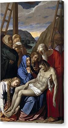 The Sacred Feminine Canvas Print - Pulzone, Scipione Il Gaetano by Everett