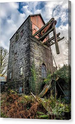 Pump House Canvas Print by Adrian Evans