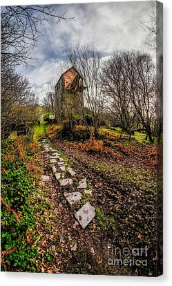 Pump House Way Canvas Print by Adrian Evans