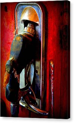 Pump Up The Vintage Canvas Print by Karen Wiles