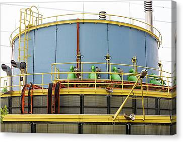 Pumping Station Canvas Print by Ashley Cooper