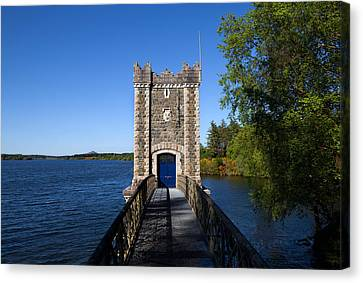 Pumping Tower, Vartry Reservoir Canvas Print by Panoramic Images
