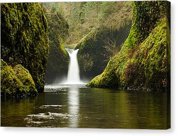 Punch Bowl Falls Canvas Print by Jesse Wright