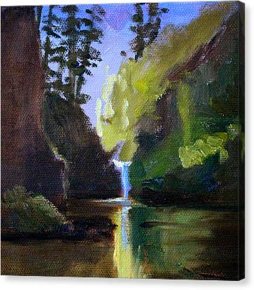 Punch Bowl Falls Canvas Print