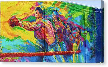 Punch Canvas Print by Chuck  Hicks