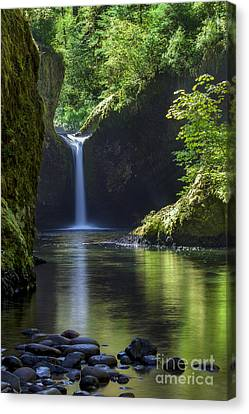 Punchbowl Falls Canvas Print