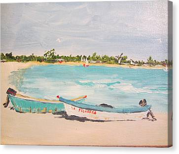 Punta Cana Canvas Print