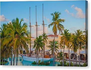 Punta Cana Resort Canvas Print by Amel Dizdarevic